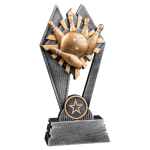 Sun Ray Resin -Bowling Sun Ray Resin Trophy Awards