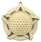 Super Star Medal -Golf Super Star Medal Awards