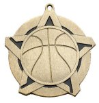 Super Star Medal -Basketball Super Star Medal Awards