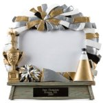 Photo Frame -Cheer Team Photo Frame Resin Trophy Awards