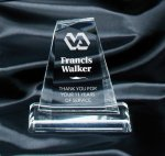 Clear Pinnacle Award Traditional Acrylic Awards