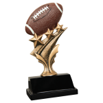 Tri Star Resin -Football Tri-Star Resin Trophy Awards