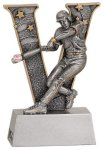V Series Resin -Baseball Male  V Series Resin Trophy Awards