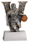 V Series Resin -Basketball Male  V Series Resin Trophy Awards