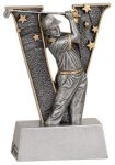 V Series Resin -Golf Male  V Series Resin Trophy Awards