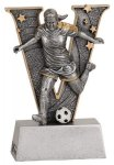 V Series Resin -Soccer Female V Series Resin Trophy Awards