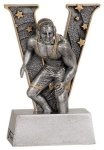 V Series Resin -Wrestling V Series Resin Trophy Awards