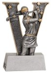 V Series Resin -Golf Female V Series Resin Trophy Awards