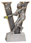 V Series Resin -Softball Female  V Series Resin Trophy Awards