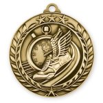 Wreath Medal -Track Wreath Antique Medal Awards