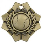 Imperial Medals -Baseball  Wreath Medal Awards