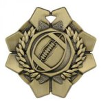 Imperial Medals -Football  Wreath Medal Awards