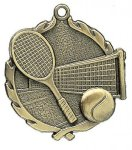 Wreath Medal -Tennis Wreath Medal Awards